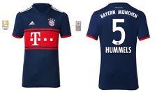 Trikot Adidas FC Bayern München 2017-2018 Away BL - Hummels 5 [128 bis XXL] FCB