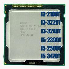 Intel Core i3-2100T i3-3220T i3-3240T i5-2390T i5-2500T i5-3470T LGA 1155 CPU