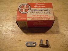 Mint Skip Tooth Bicycle Chain Master Link Schwinn Elgin Shelby Monark &&