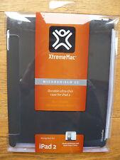 Xtreme Mac Negro cubierta rígida cubierta durable Microshield SC Ipad 2 Ultra Delgada Nuevo