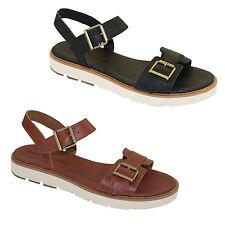 Timberland BAILEY PARK Ankle Strap Sandals Sommer Leder Damen Sandalen NEU