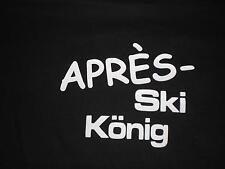 """Mallorca Apresski Apres Ski Party Fun Shirt """"Après Ski König"""" S-5XL Gaudishirt"""