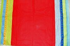 Ikea BARNSLIG WILJ Eva Lundgreen Striped Red Back Tab Window Drape Panel _ NNP