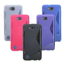 Schutzhülle Handyschale Tasche Case für LG X POWER 2 // Hülle + Displayschutz