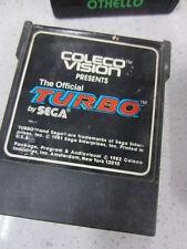 Coleco Vision THE OFFICIAL TURBO by Sega Atari Very Rare USA version