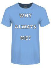 T-shirt Why Always Me Men's Sky Blue