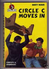 Circle C Moves In Brett Rider  Pocket Books #467 c.1947