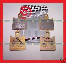 2 KIT Pastiglie  BREMBO RACING Z04 KAWASAKI ZX6R   M508Z04
