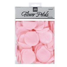 Pink Fabric Rose Petals Wedding Flowers Confetti Table | Aisle Decoration 300pk