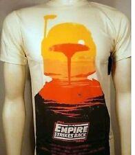 The Empire Strikes Back Poster Crew Star Wars Boba Fett Luke Darth T Shirt S-2Xl
