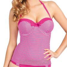 Freya Swimwear Tootsie Bandeau Tankini Top Magenta 3605