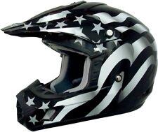 AFX ADULT FX-17 Flag MX ATV Motorcycle Helmet XS-2XL