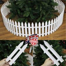 Christmas Tree Fence Decor Miniature Garden Party Xmas Decoration 5/15/25 Packs
