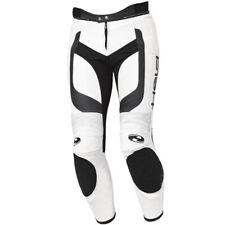 Held Rocket II Leather Motorcycle Sports Pant - White / Black