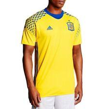 Maillot Gardien Espagne 2016-2017 Jaune Football Homme Adidas