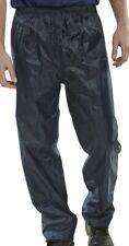 Navy classico Impermeabile Pioggia Sopra Pantaloni leggero confortevole