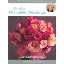 MARTHA STEWART'S Complete Wedding Planner/Organizing Ideas - 4 DVD Set