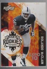 2010 Score Hot Rookies Expo 10 #4 Rolando McClain Oakland Raiders Football Card