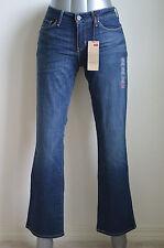 Levi's Mod Rise Bold Curve Bootcut Skinny Jeans Blue Drama NWT Sty 058060096