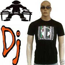 VIP DJ Star NYC DC club-energy BAR CODE Tee-shirt G L/XL