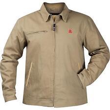 Rocky Mens Work Tan Insulated Canvas Short Coat Jacket XXL