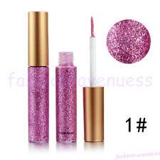 Larga Duración metálico brillo chispeante 10/1 Delineador Líquido Delineador Maquillaje De Fiesta