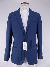 NWT VENTURELLI giacca UOMO sartoriale COTONE blu JACKET P/E tg.54-56(IT) Drop 8R