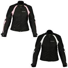 Ladies Motorcycle Motorbike Jackets Racing Waterproof Cordura Textile 2284