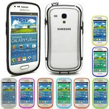 Handy Hülle Samsung Galaxy S4 S3 Mini S2 Schutz TPU Bumper Case Silikon Cover