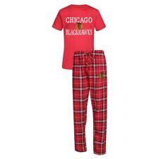 Chicago Blackhawks Men's NHL Duo Shirt And Pants Pajama Sleepwear Set
