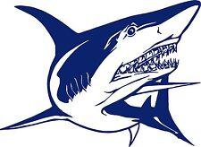 Shark Attack Ocean Fishing Water Boat Car Window Laptop Vinyl Decal Sticker
