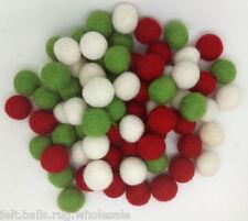 Wholesale Lot Pom Pom 2 cm Felt Balls for Nursery Craft Beads Garland making