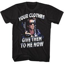 TERMINATOR CLOTHESNOW BLACK ADULT Short Sleeve T-Shirt