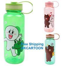 JAPAN TOMY LINE APP CHARACTERS BROWN CONY MOON 650ML BPA FREE WATER BOTTLE