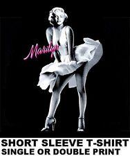 BEAUTIFUL MARILYN MONROE FAMOUS BLOWING DRESS ART PRINT T-SHIRT WS2