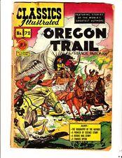 Classics Illustrated 72 (1950): Oregon Trail: Original:FREE to combine:Fair/Good