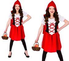 niña Caperucita Roja Disfraz infantil Libro De Cuento De Hadas Día Disfraz