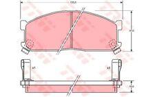 TRW Bremsbelagsatz Scheibenbremse Für MAZDA KIA FORD AUSTRALIA ECONOVAN GDB737