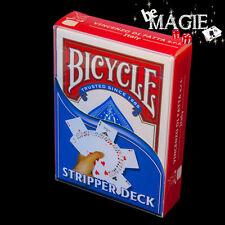 Jeu BISEAUTE Bicycle - Stripper deck - Poker - Magie - cartes