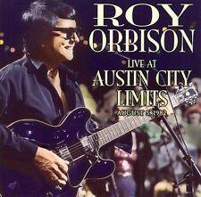 Live at Austin City Limits; Roy Orbison 2000 CD, Concert 1982, Rock N Roll, Orbi