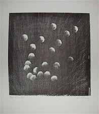 HARTUNG Hans Gravure Originale Signée 1973 art abstrait Lyrique Art Imformel