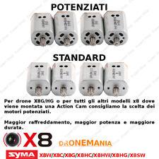 4 Motori DRONE SYMA X8W X8C X8G X8HC X8HW X8HG X8SW, X8 SW HW HG HW