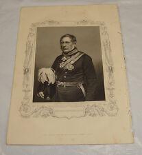 1855 CRIMEAN WAR Print/GENERAL SIR H. BENTINCK, KCB