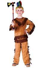 Dress Up America Indian Warrior Boy Costume
