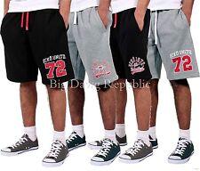 Ecko Mens Boys Hip Hop Star Fleece Shorts Black & Grey G Sweat Time Money Is