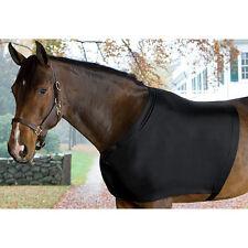 HORSE MANE SAVER SLINKY BLACK LYCRA SHOULDER BLANKET RUB GUARD ALL SIZES