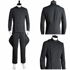 Star Wars Imperial Intelligence Senior Officer Gray Cosplay Costume Uniform Suit