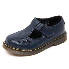 D3816 (without box) scarpa bimba DR. MARTENS scarpe blu shoe kid