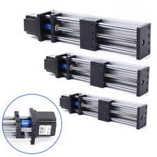 Ball Screw Linear Rail Motion Slide Table w/23nema Stepper Motor CNC 100-300mm