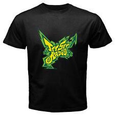 New Jet Set Radio Logo Anime Cartoon Game Men's Black T-Shirt Size S to 3XL